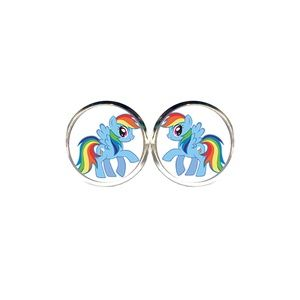 Rainbow Dash Earrings